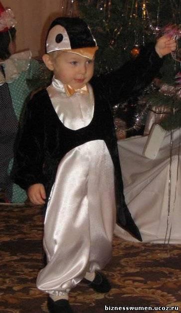 Костюм пингвина своими руками фото