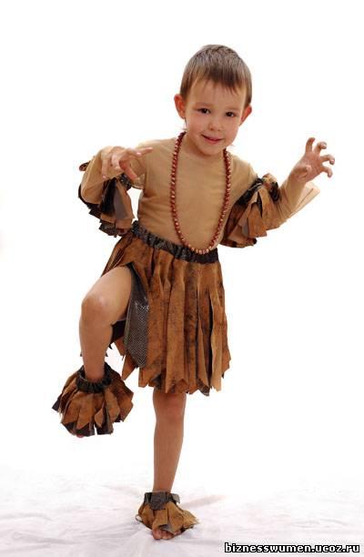 Африканский костюм для мальчика своими руками